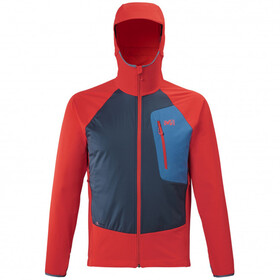 Millet Touring Speed XCS Hoodie Herren fire/orion blue